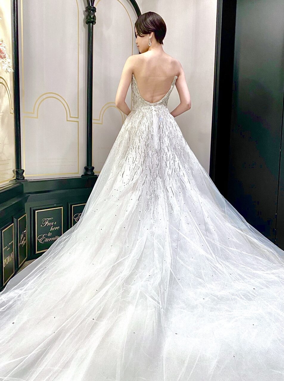 イネスディサントのウェディングドレス
