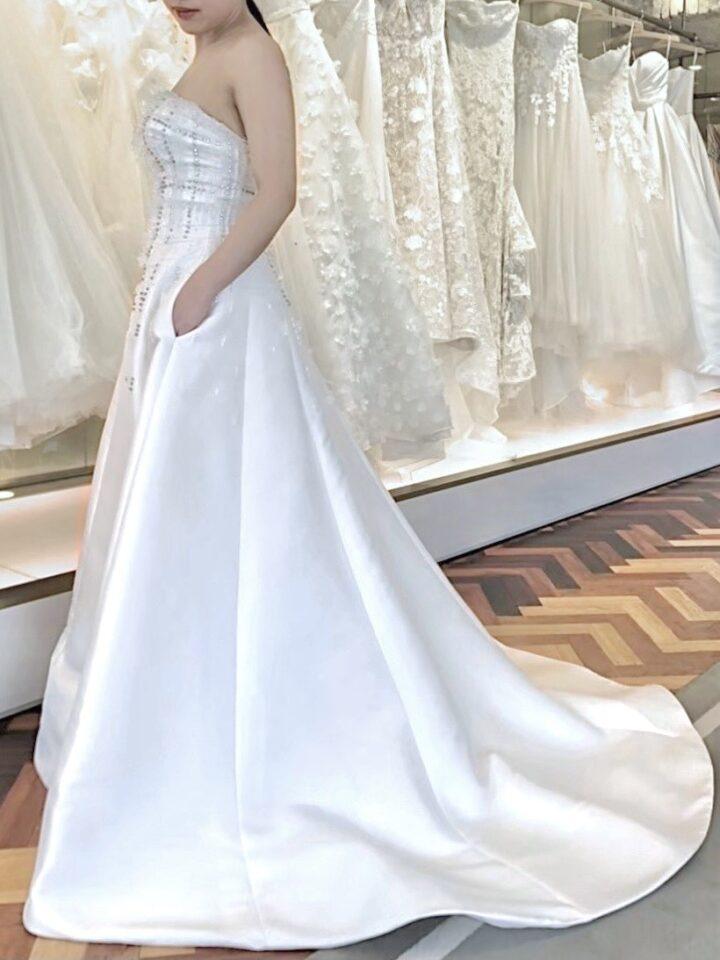 VIKTOR & ROLF mariage(ヴィクターアンドロルフマリアージュ) サテン ドレス