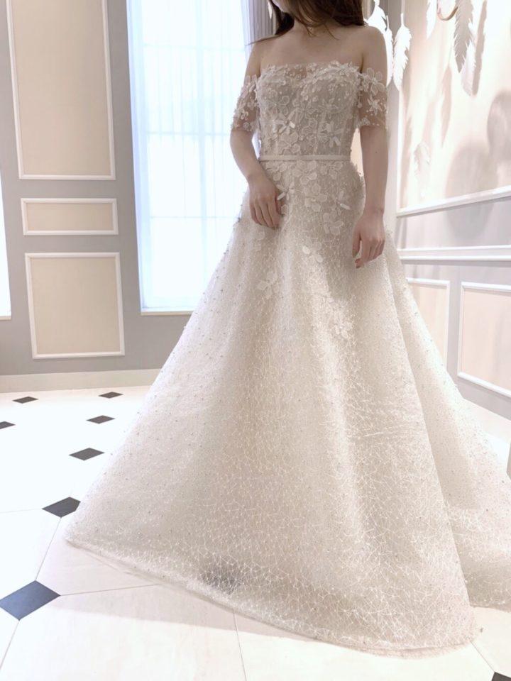 Mira Zwillinger(ミラズウィリンガー)のフラワーモチーフドレス