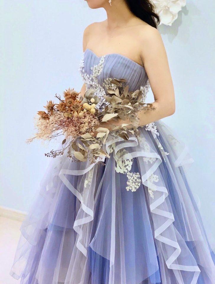 Leaf for Brides(リーフフォーブライズ) ニュアンスカラー ブルー