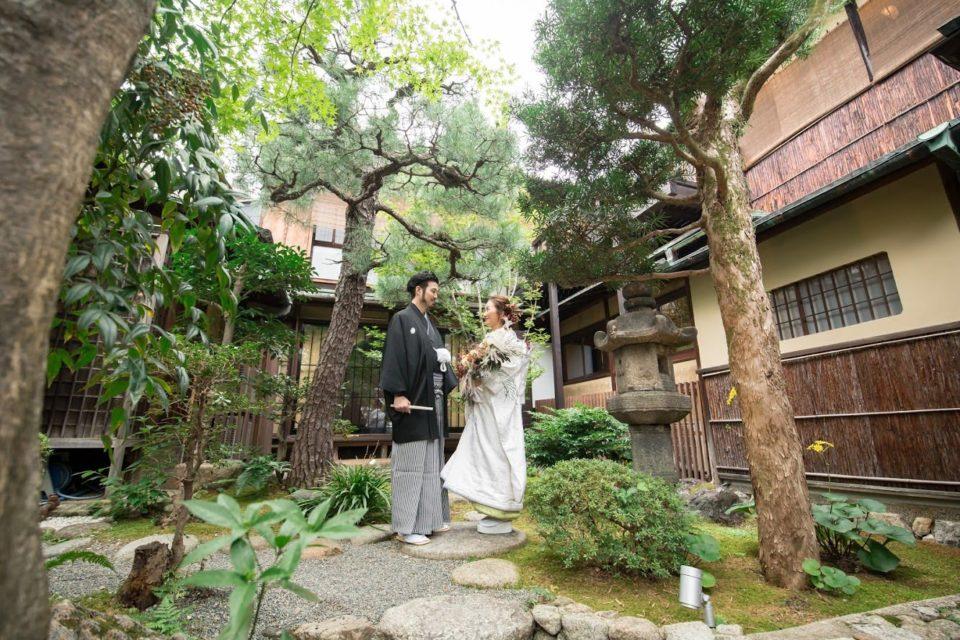 白無垢 京都祝言