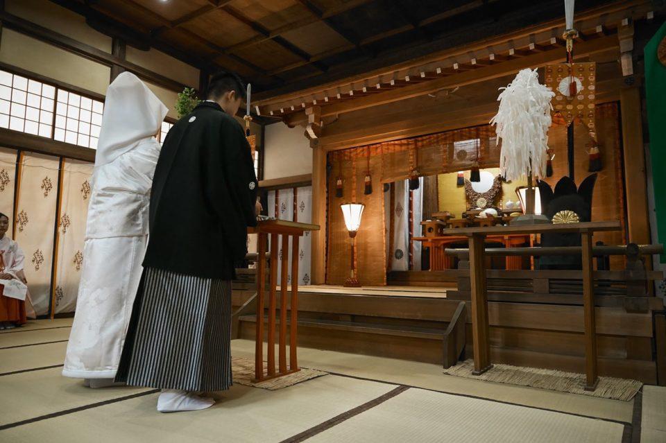 JUNO 白無垢 神社式