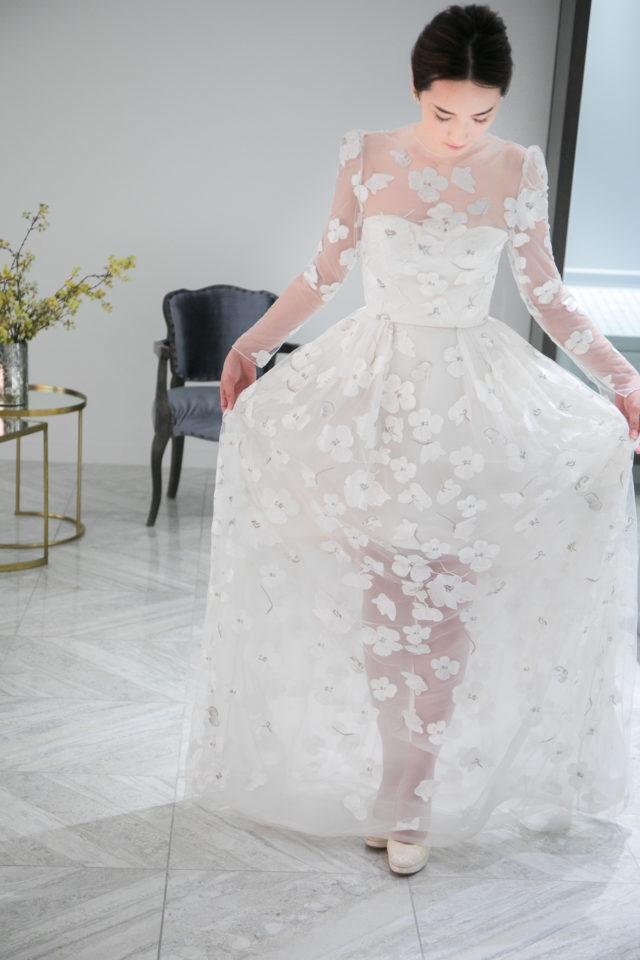 Elizabeth Fillmore(エリザベスフィルモア) ウェディングドレス Aライン
