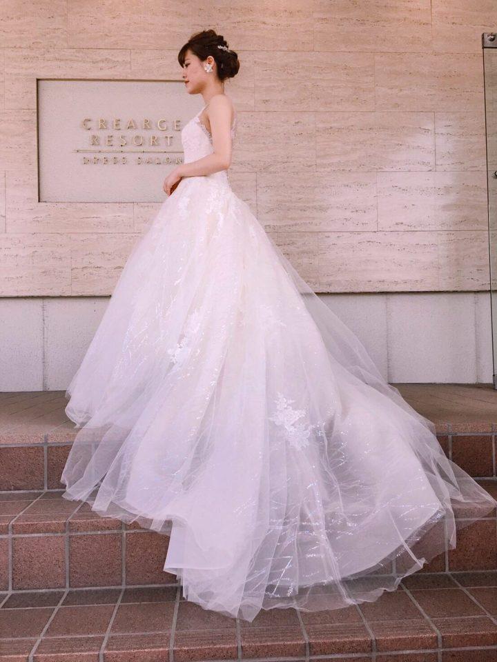 ENZOANI(エンゾアニ)のウェディングドレスでドラマティックな花嫁様に