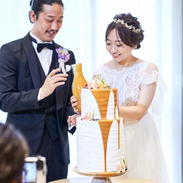 QUANTIC(クアンティック) ORIENTAL WIND たらしこみケーキ 披露宴
