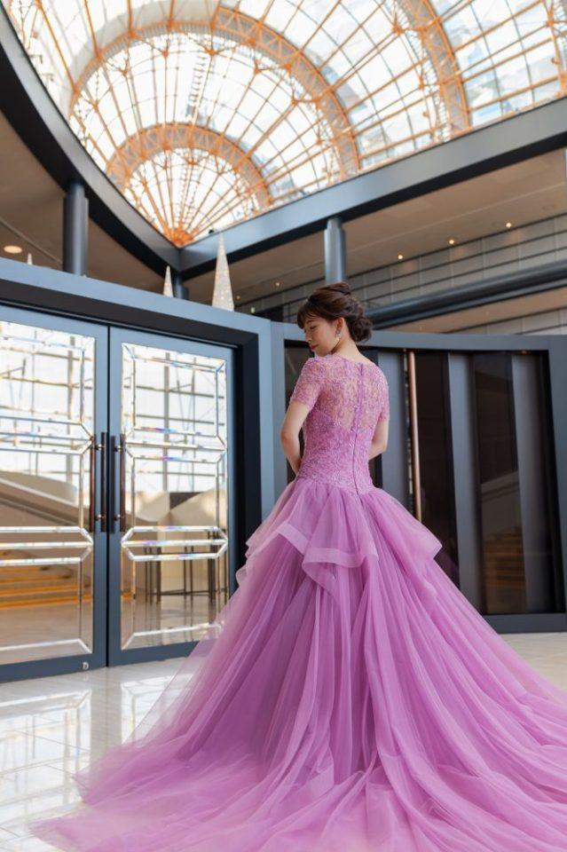 JUNO KENNETH POOL(ケネスプール)  カラードレス ピンク