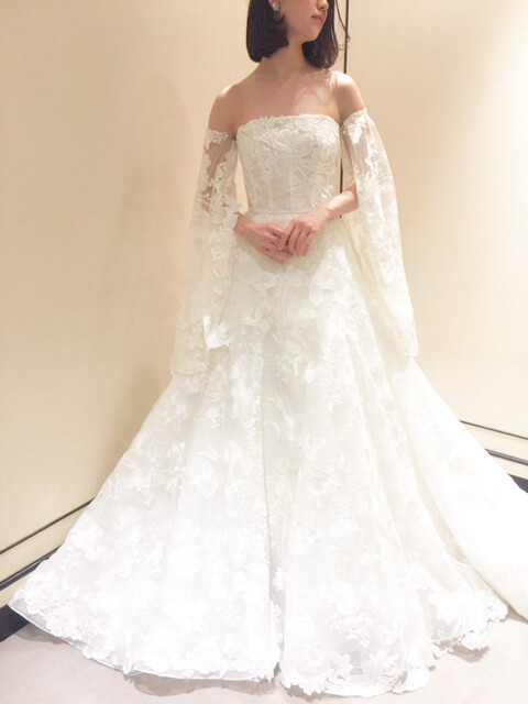RIVINI(リヴィニ)Aライン ウェディングドレス