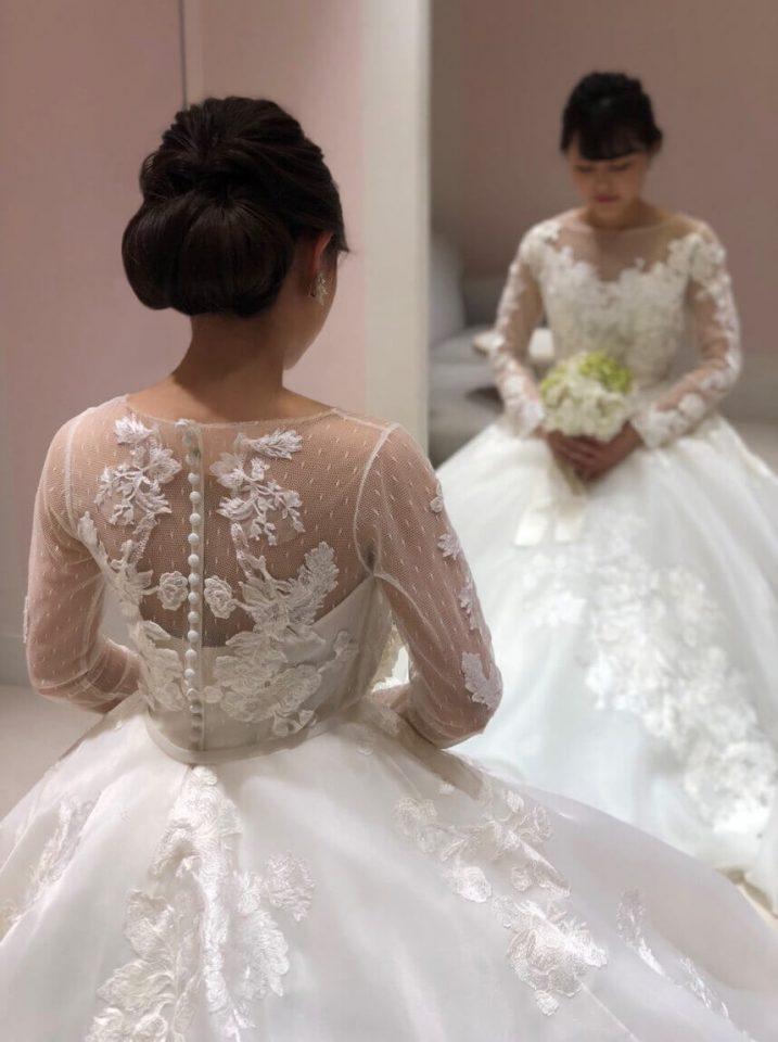 RIVINI(リヴィニ) Aライン ウェディングドレス