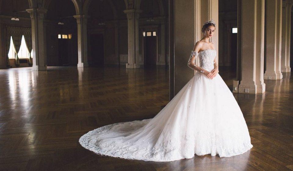 ボリューム感のあるウェディングドレスがほしい!ボリュームありドレスの特徴