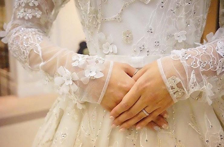 2018年トレンド♡3Dフラワードレスでロマンティックな花嫁様に