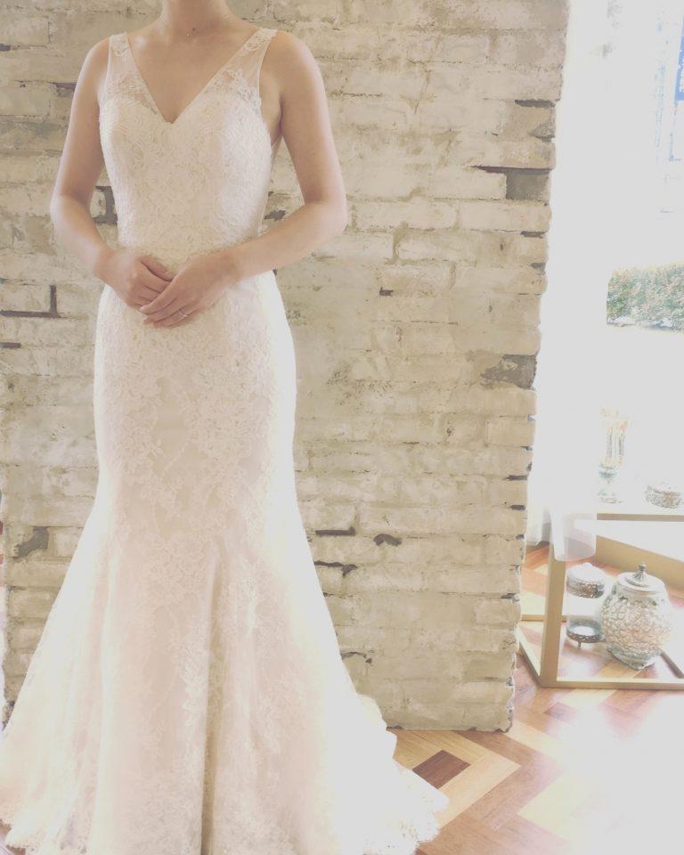 Bliss by Monique Lhuillier(ブリス バイ モニーク・ルイリエ) 2way ウェディングドレス