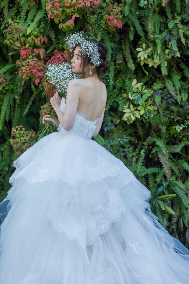 大人花嫁さまの為のロマンティックなボールガウンドレス♡MARCHESA(マルケーザ)