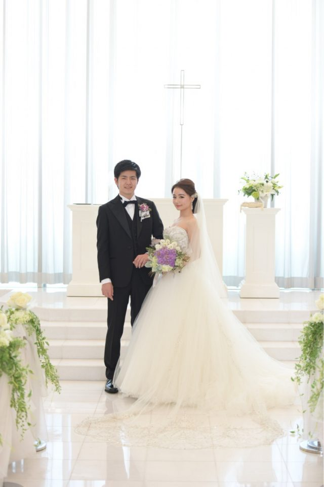 simple×modern wedding