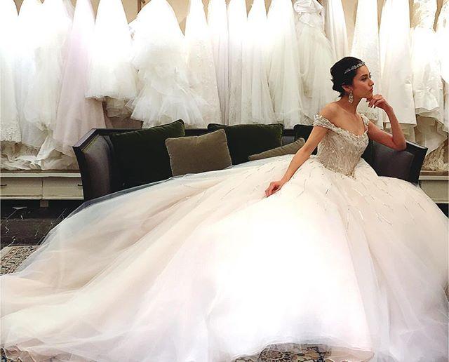海外セレブのようなゴージャスなウェディングドレスが着たい!