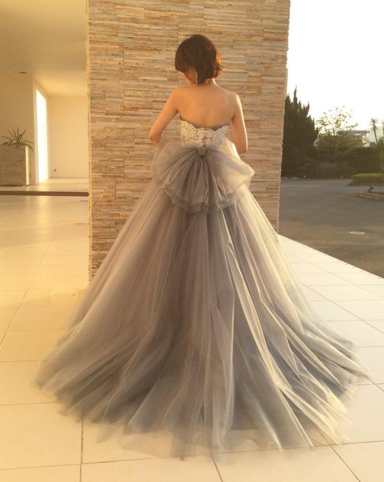 primevere(プリムベール)オリジナルドレス ドームライン カラードレス