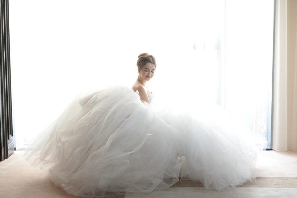 身長が低めの花嫁さまのドレスの選び方♡人気のドレススタイル