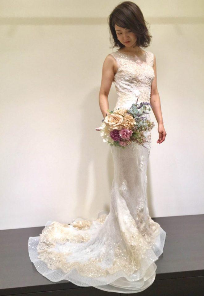 誰よりも美しい花嫁様に・・・ INES DI SANTO