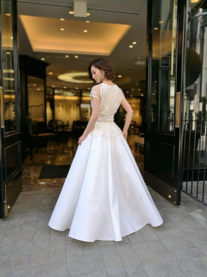 NAEEM KHAN(ナイームカーン) Aライン ウェディングドレス