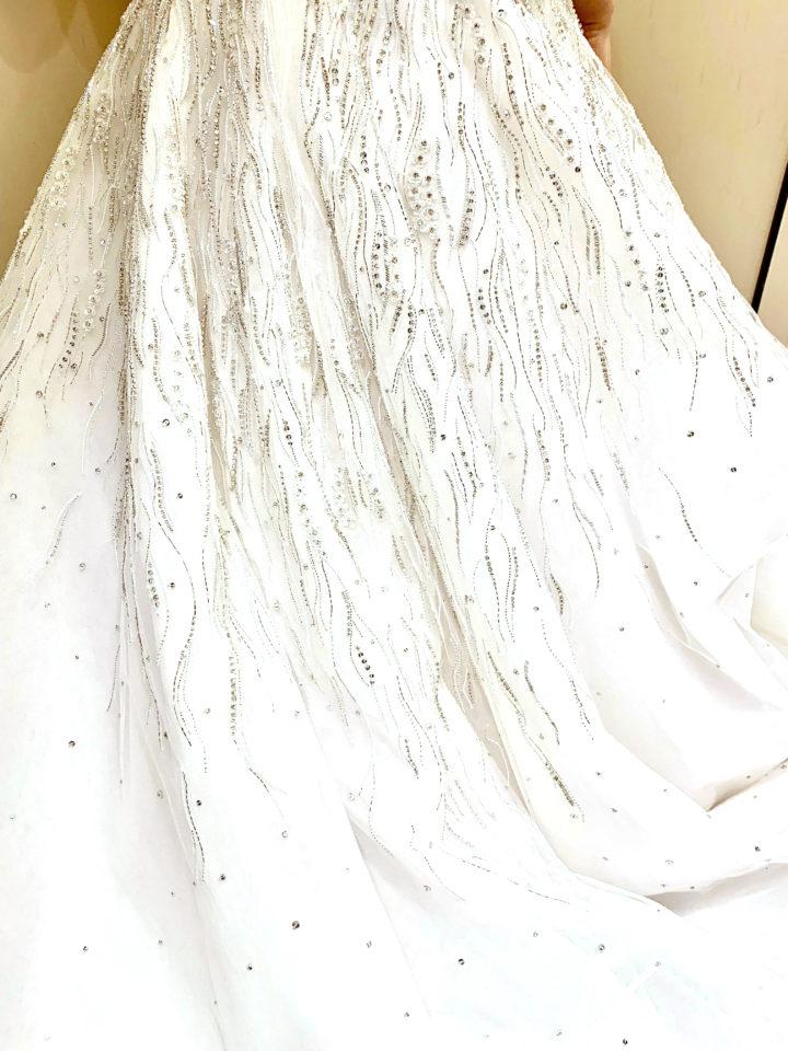 INES DI SANTO(イネスディサント)Aライン ウェディングドレス