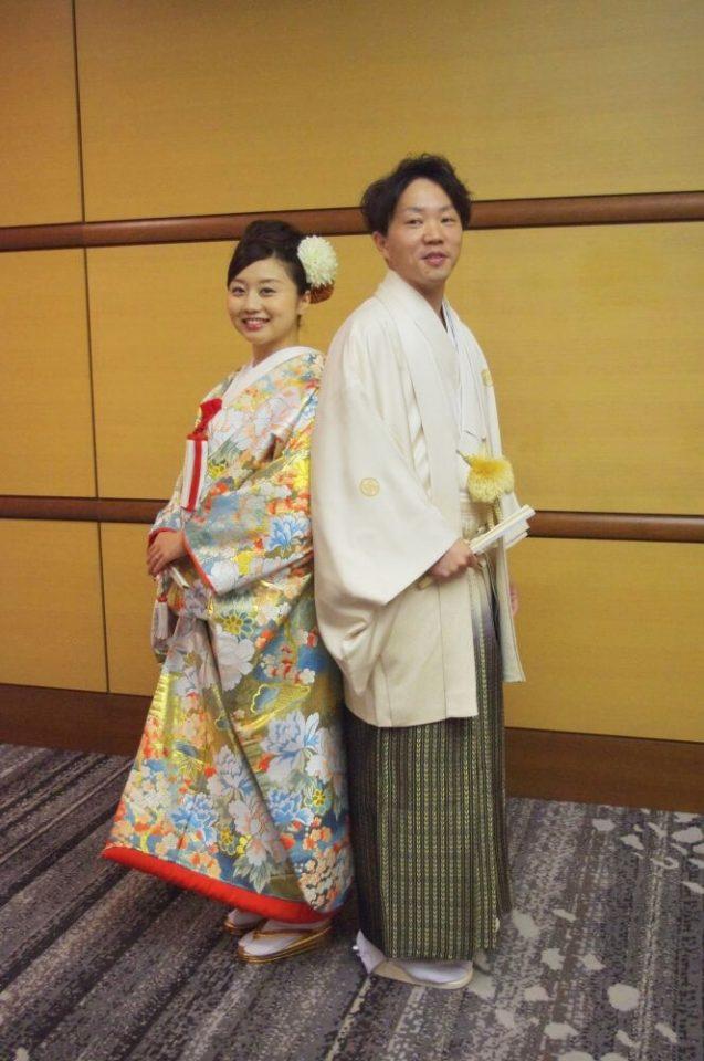 一生に一度の晴れの日の衣裳は、日本古来の伝統を誇る和装いで品格高く
