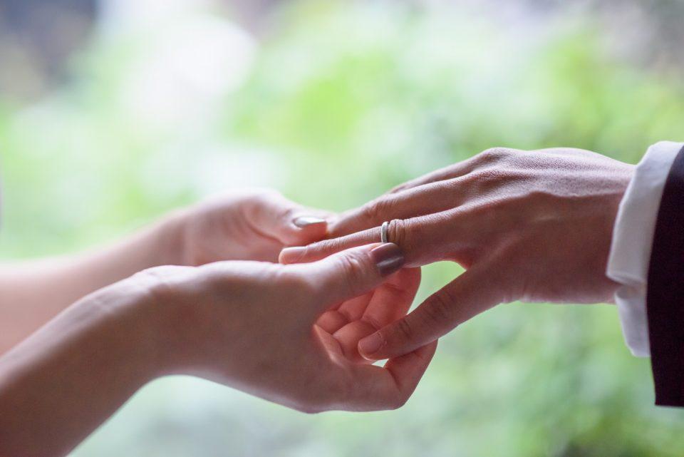 Dressesフォト 指輪交換